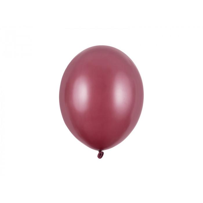 Balony 35 cm, Kropki, Pastel Baby Blue