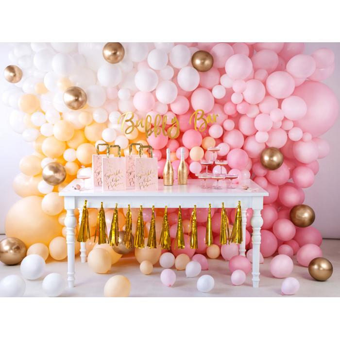 Balony 35 cm, 40th Birthday, Metallic Mix