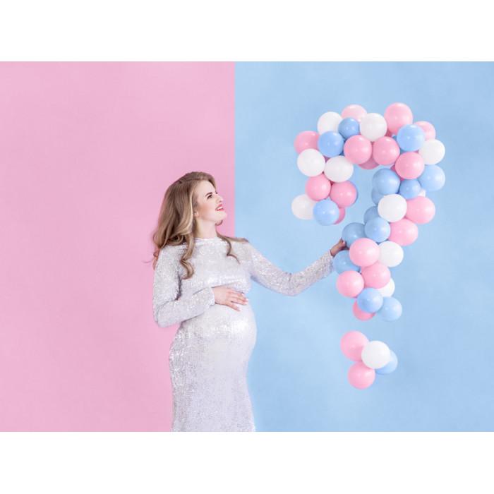 Balony 35 cm, 2nd Birthday, Metallic Mix