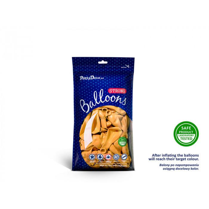 Balony 35 cm, 8th Birthday, Metallic Mix