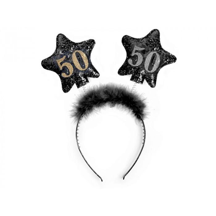 Balony 35 cm, Gołąbki, Metallic Gold