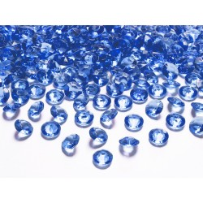 Diamentowe konfetti, granat, 12mm