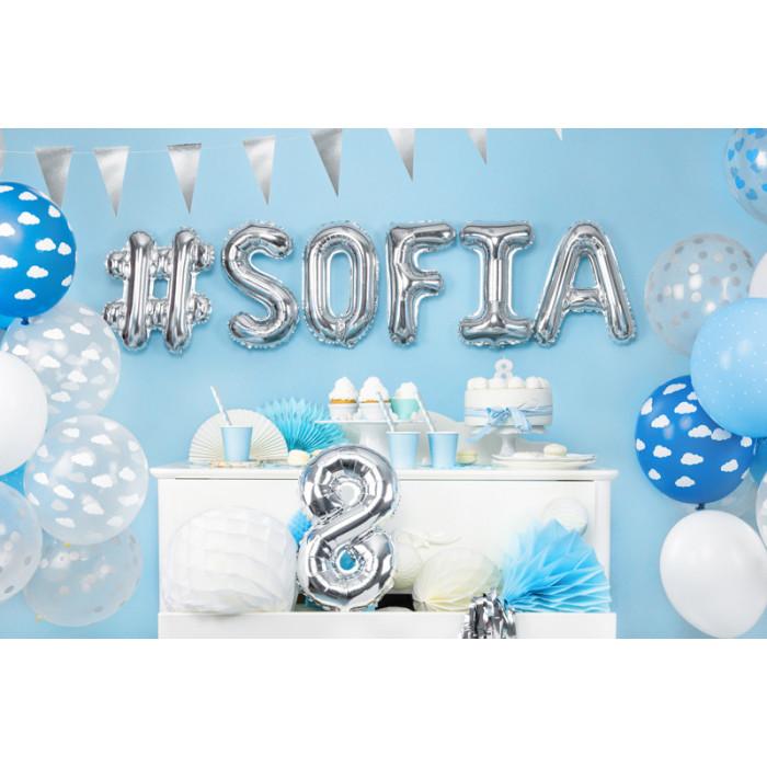 Balony 25 cm, Metallic Poppy Red