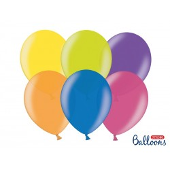 Balony 30 cm, Metallic Mix