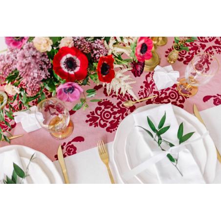Diamentowe konfetti, różowy, 20mm