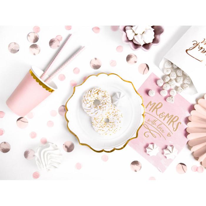 Balony 35 cm, Kropki, Crystal Clear
