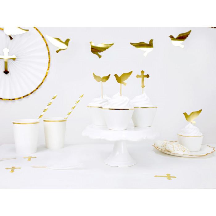 Okulary Mega serca, czerwony