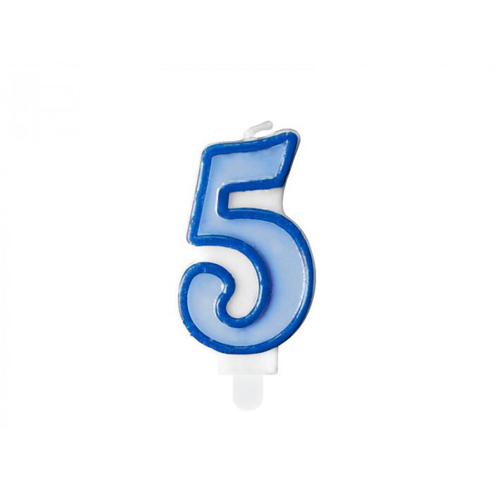 Kula kwiatowa, biały, 21cm