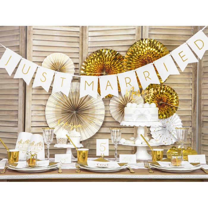 Lampion papierowy, żółty, 30cm