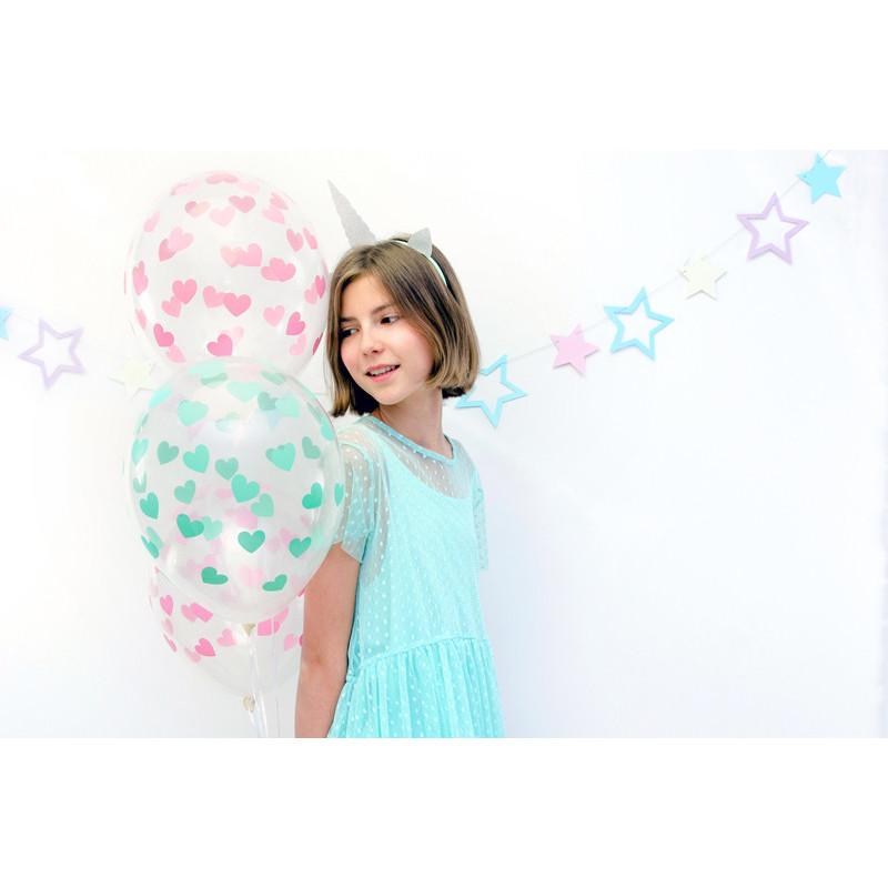 Talerzyki, błękit, 17,7cm