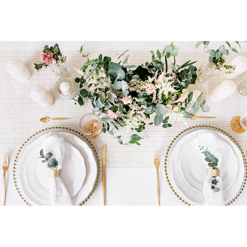 Słomki papierowe, żółty, 19,5cm