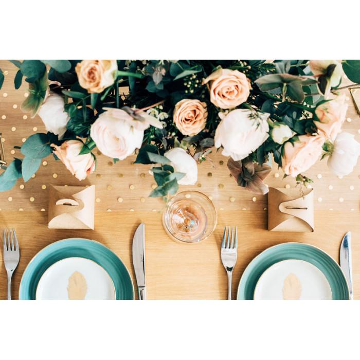 Słomki papierowe, czerwony, 19,5cm