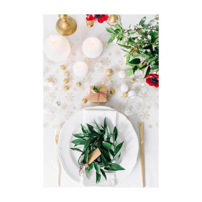 Woreczki z organzy, biały, 26cm