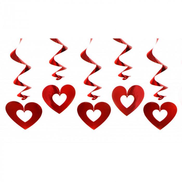 Serpentyny holograficzne, zielony, 3,8m