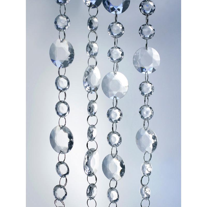 Świeca klubowa lakierowana, biały, 12 x 6cm