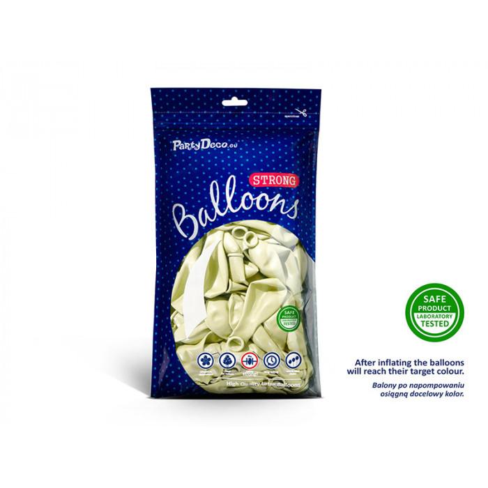 Balony 35 cm, Biedronki, Pastel Pure White