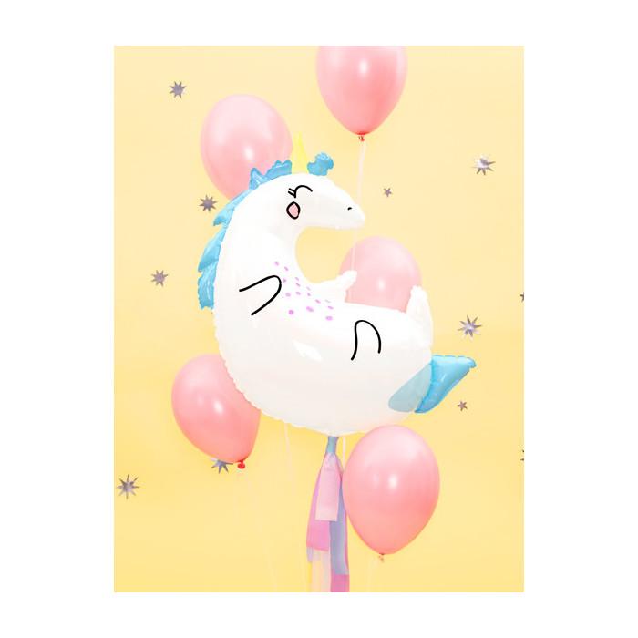 Balony 35 cm, Kropki, Pastel Pure White