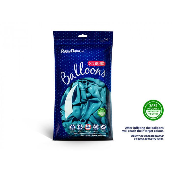Balony 35 cm, Kropki, Pastel Baby Pink