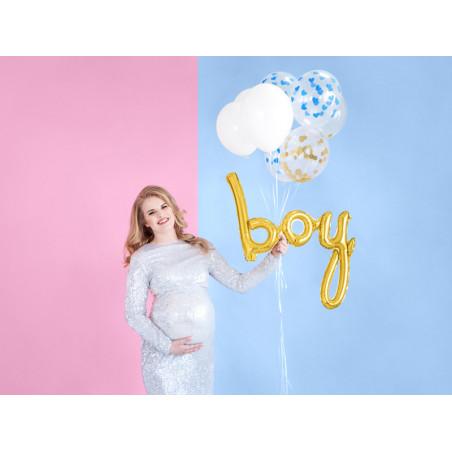 Balony 35 cm, Kropki, Pastel Hot Pink