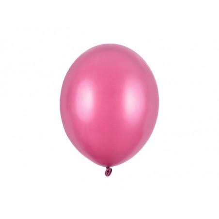 Balony 35 cm, Kropki, Pastel Poppy Red