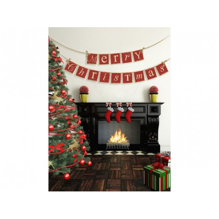 Baner Merry Christmas, 14,5 x 220cm