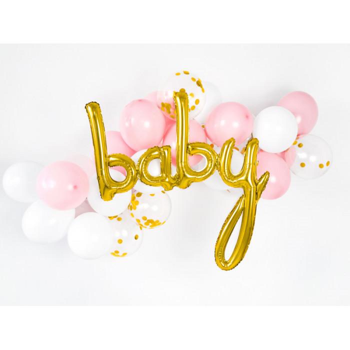 Konfetti Śnieżynki, perłowy, 3,1 x 3,6cm