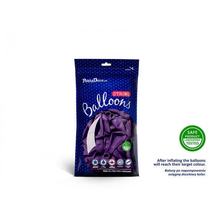 Kule szklane ze wstążką, 10cm