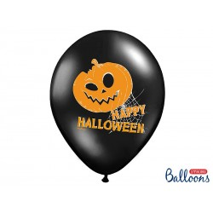 Balony 35 cm, Dynie, Pastel Black