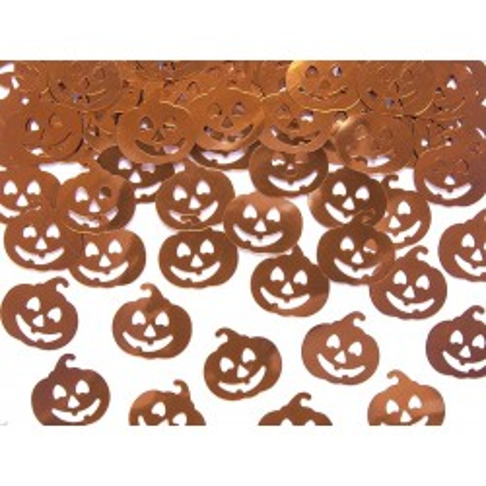 Konfetti metalizowane Dynie, 2 x 2cm, 15g