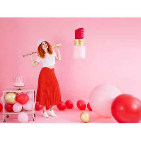 Baner I'm No. 1, różowy, 110cm