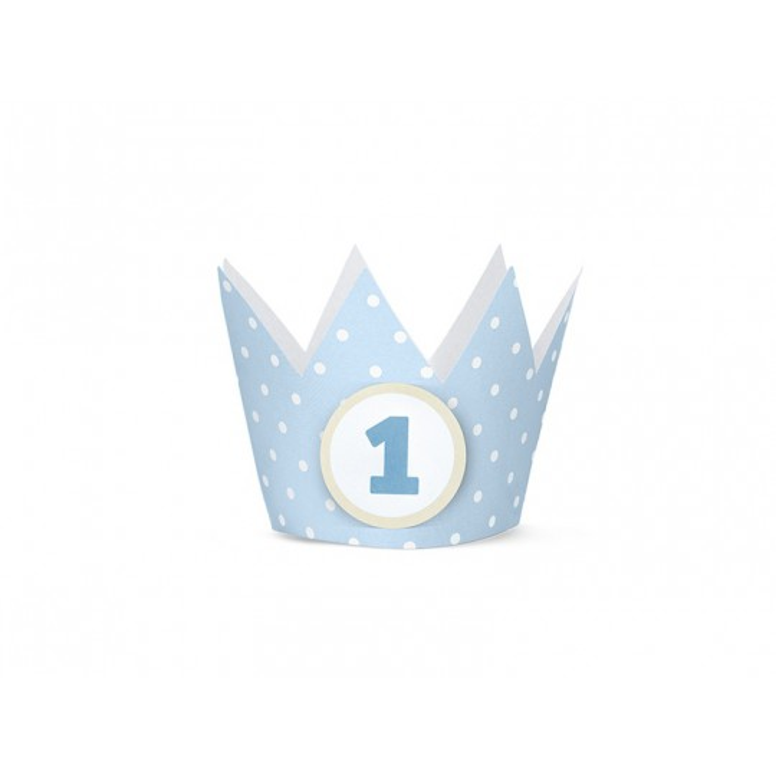 Korony Party, błękit, 10cm