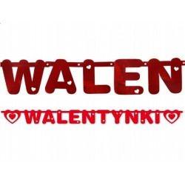 Baner Walentynki, 12 x 160cm
