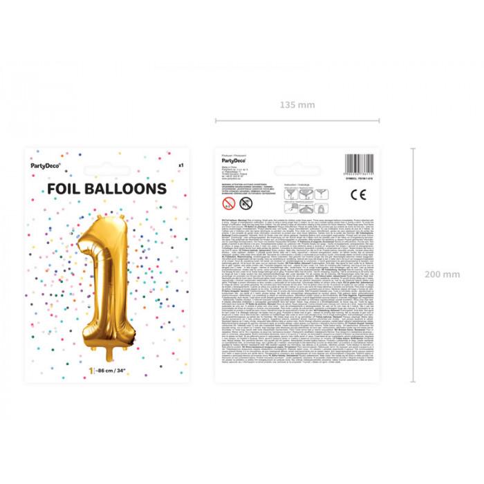 """Balon foliowy 28 x 31"""" SHP Wózek Baby Girl"""