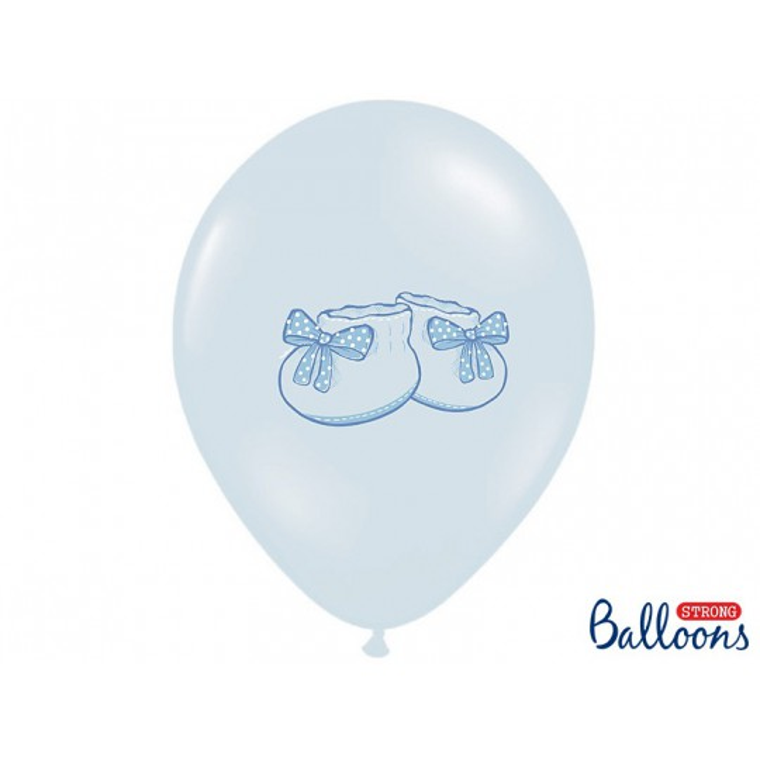 Balony 35 cm, Bucik, Pastel Baby Blue