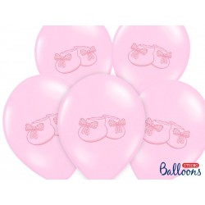 Balony 35 cm, Bucik, Pastel Baby Pink