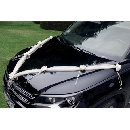 Kajdanki z futerkiem, czerwony