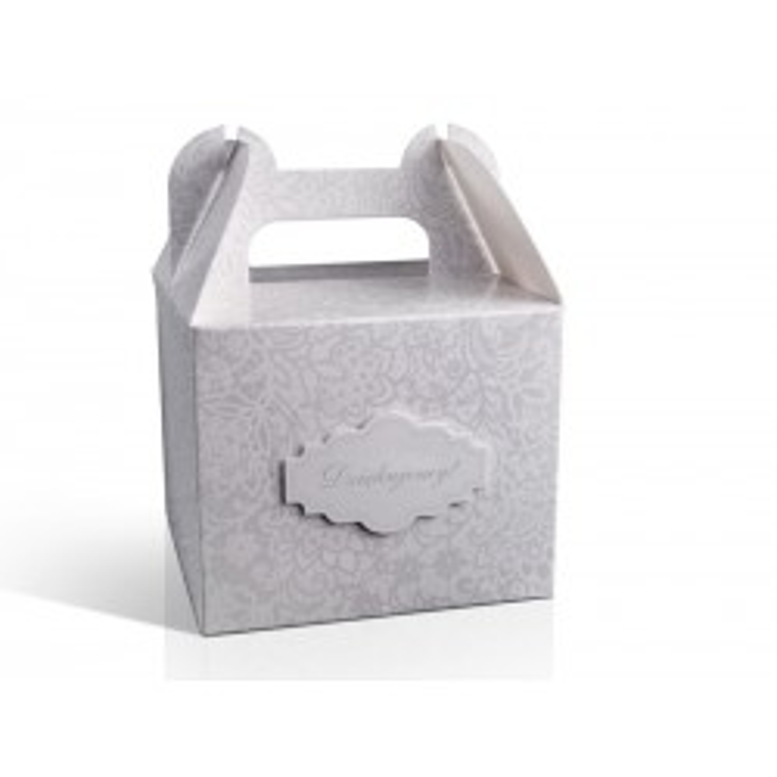 Ozdobne pudełka na ciasto