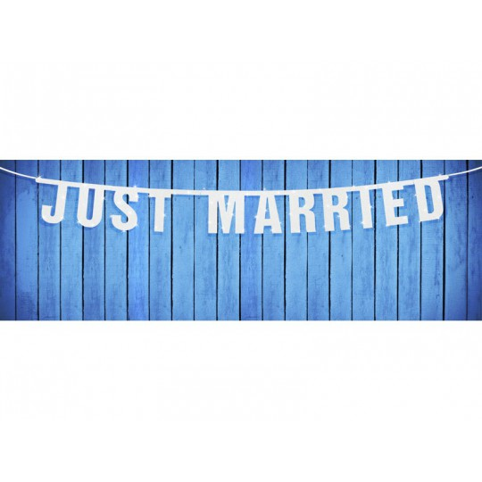 Baner Just Married, 18 x 170cm