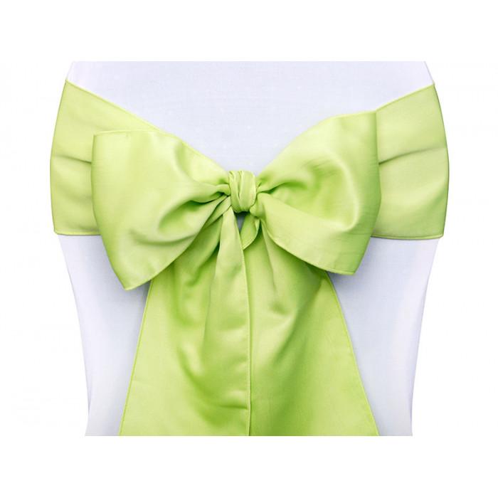 Kotyliony z satynowym kwiatkiem, biały