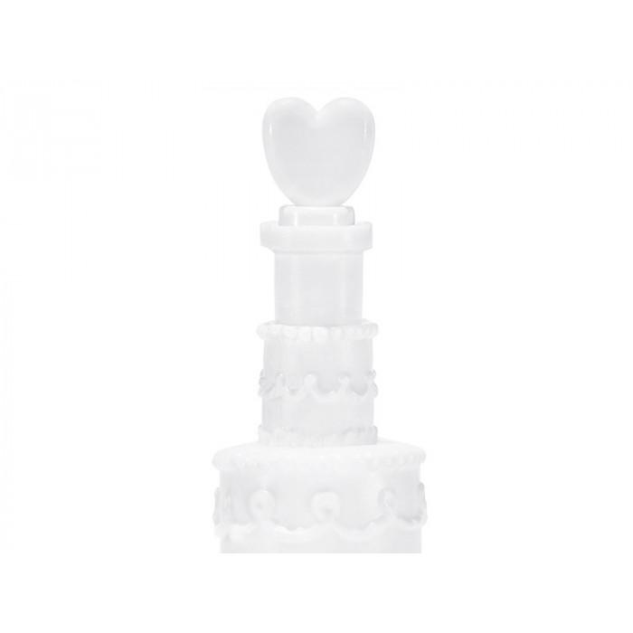 Ubranka na butelkę, biały