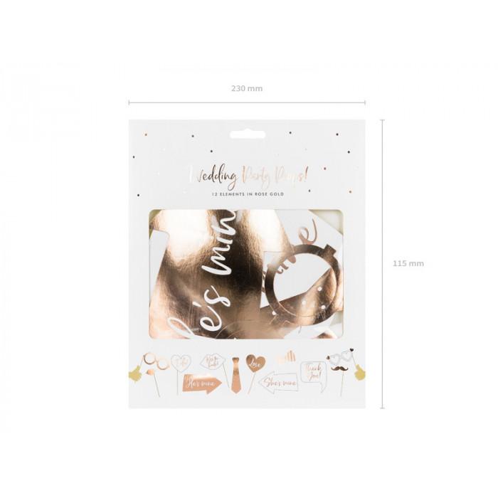 Pudełko na koperty - złote - XL