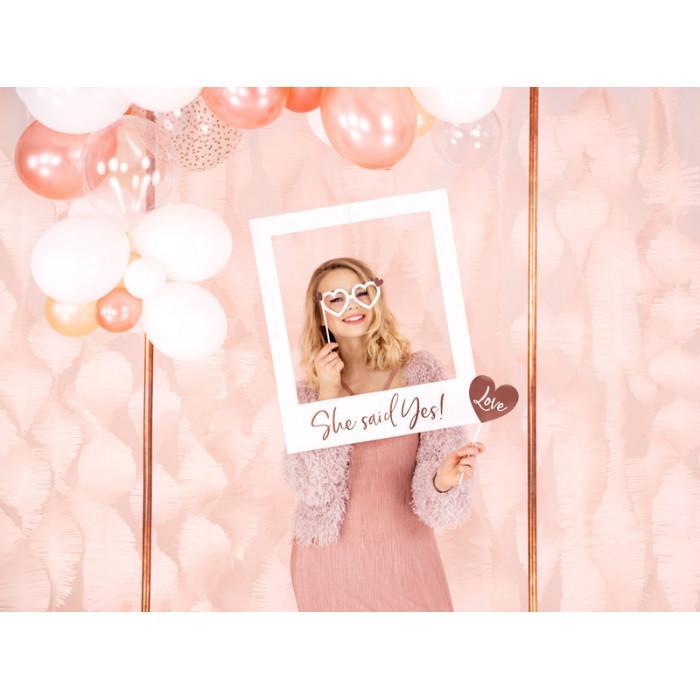 Pudełko na koperty - srebrne - XL