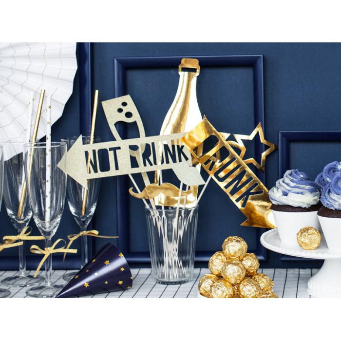 Pudełko na koperty - brązowe z koronką