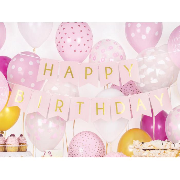 Obciążnik do balonów Dwa serca, czerwony