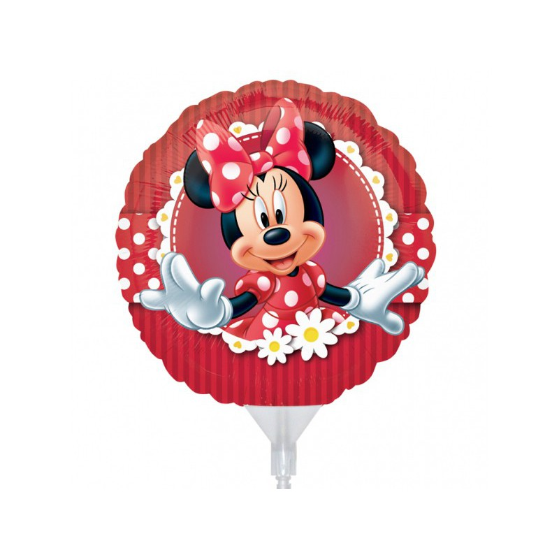 "Balon foliowy 9"" CIR Minnie"