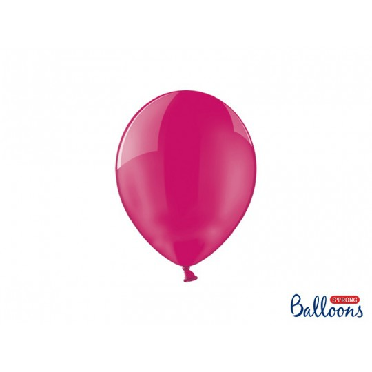 Balony 25 cm, Crystal Hot Pink