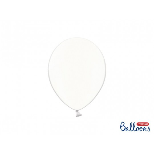 Balony 25 cm, Crystal Clear