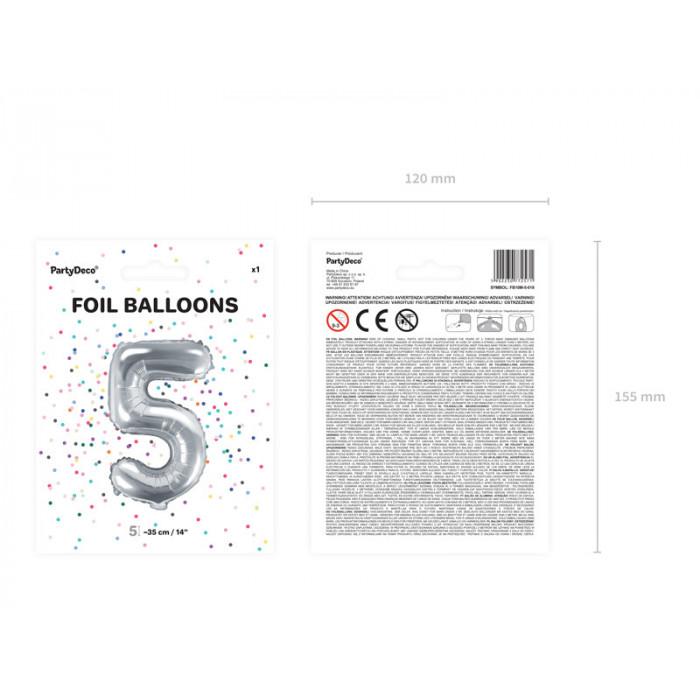 Balony 25 cm, Metallic Cornflower Blue