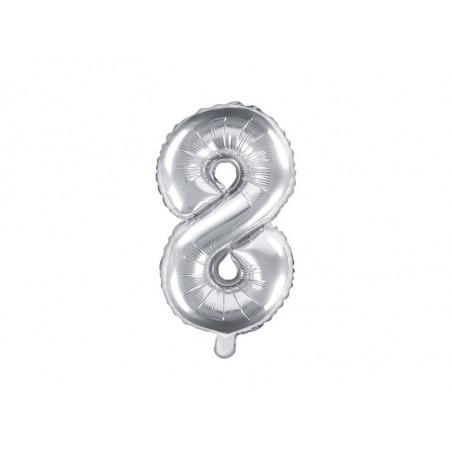 Balony 25 cm, Metallic Hot Pink