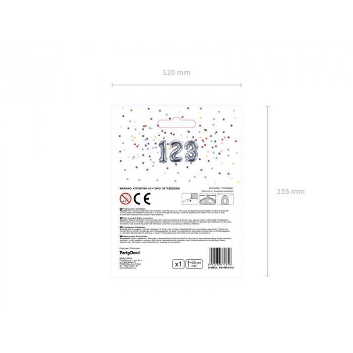 Balony 25 cm, Metallic Baby Blue